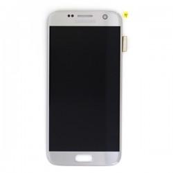 Ecran Amoled et vitre prémontés pour Samsung Galaxy S7 Argent photo 2