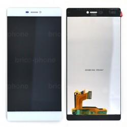 Ecran blanc avec vitre et LCD pour Huawei P8 photo 2