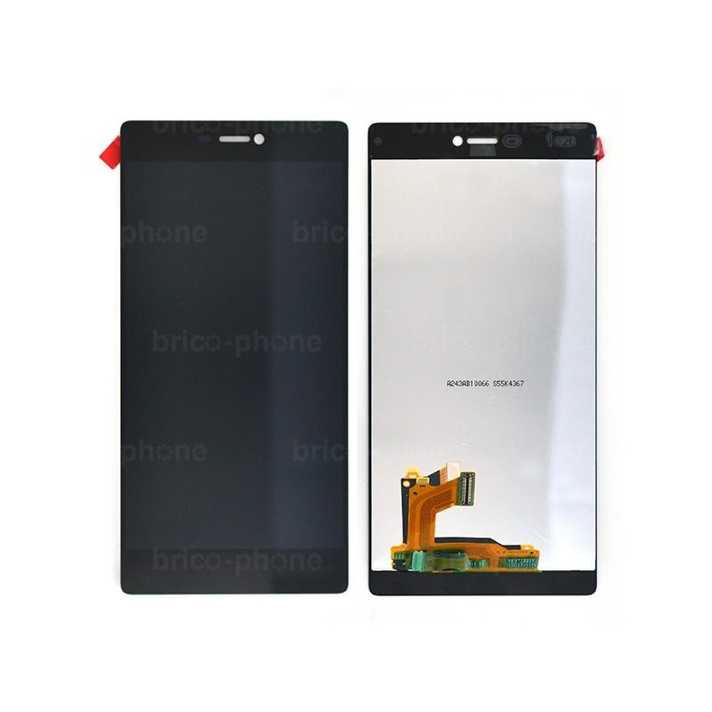 Ecran Noir avec vitre et LCD pour Huawei P8 photo 2