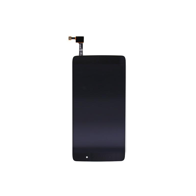 Ecran Noir comprenant VItre et LCD pré-assemblé pour Alcatel One Touch Idol 4 photo 2