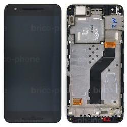 Bloc Ecran NOIR COMPLET prémonté sur chassis pour Huawei Nexus 6P photo 2