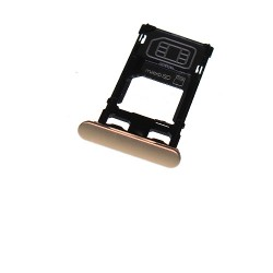 Rack tiroir cartes SIM et SD Rose pour Sony Xperia X photo 2