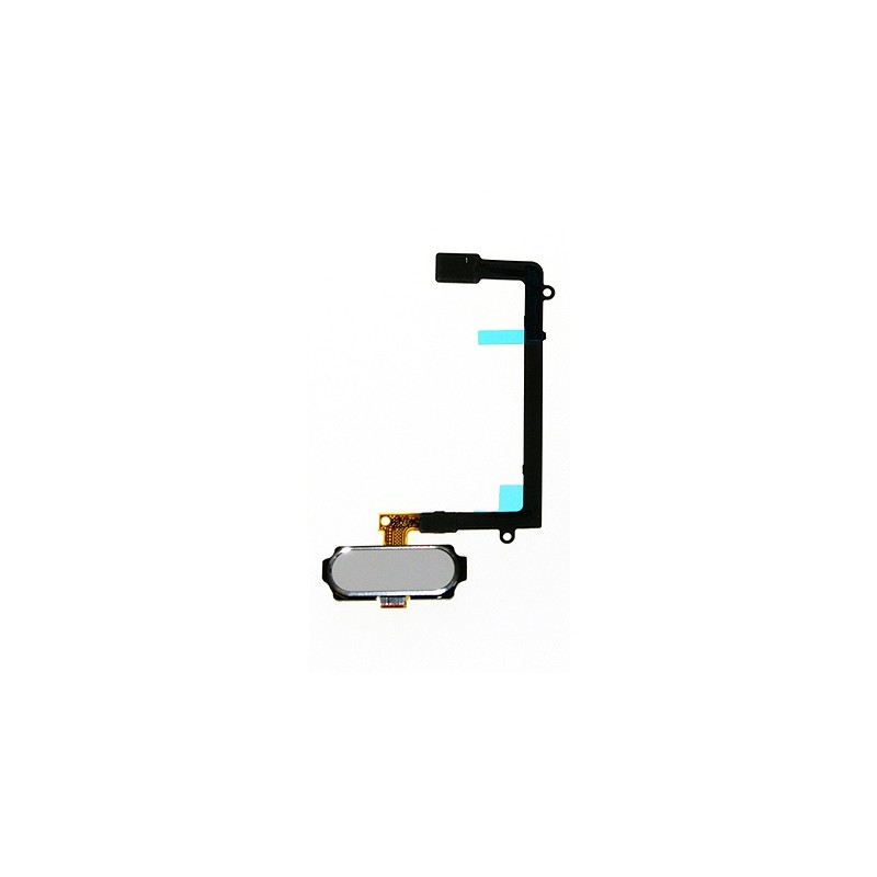 Bouton Home Blanc avec nappe pour Samsung Galaxy S6 Edge photo 2