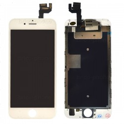 Ecran BLANC iPhone 6S RAPPORT QUALITE / PRIX pré-assemblé photo 2