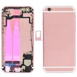 Coque arrière Rose Gold pour iPhone 6S complète photo 2