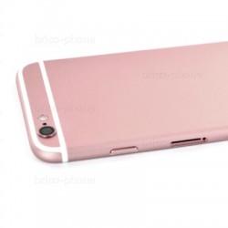 Coque arrière Rose Gold pour iPhone 6S complète photo 3