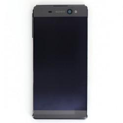 Bloc Ecran Noir sur châssis pour Sony Xperia XA ULTRA / XA ULTRA Dual photo 2