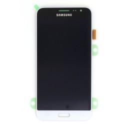 Ecran Amoled Blanc et vitre prémontés pour Samsung Galaxy J3 2016 photo 2