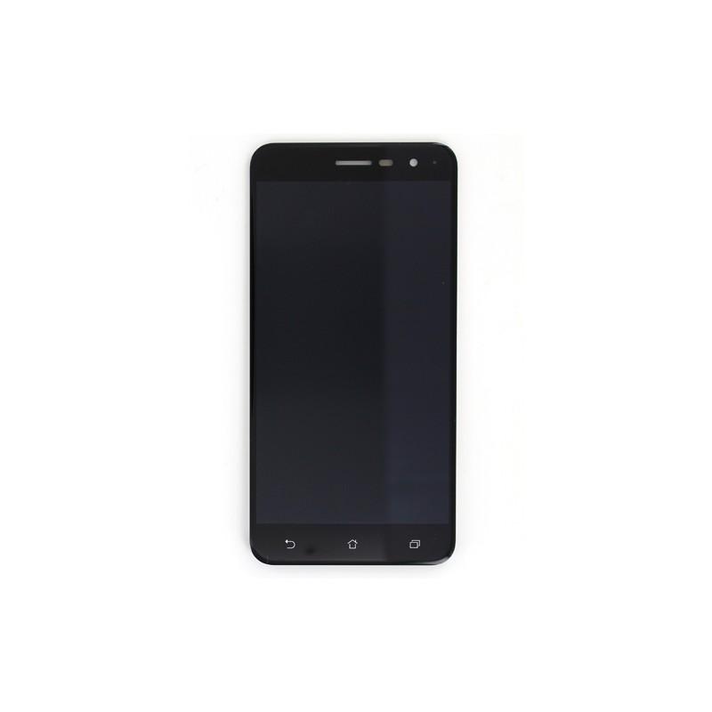 Ecran 52 NOIR Avec Vitre Et LCD Pre Assemble Pour Asus Zenfone 3