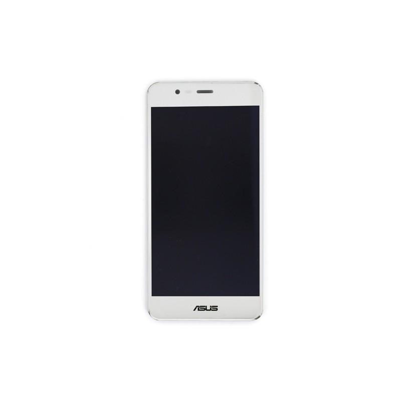 """Ecran 5,2"""""""" Blanc avec vitre avec LCD pré-assemblé pour Asus Zenfone 3 Max photo 2"""