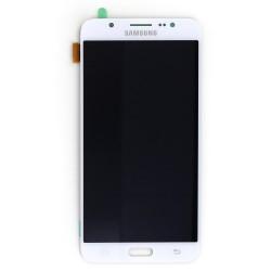 Ecran Amoled Blanc et vitre prémontés pour Samsung Galaxy J7 2016 photo 2