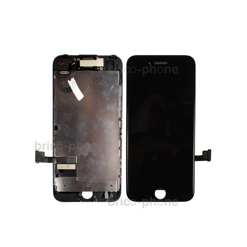 Ecran NOIR iPhone 7 PREMIUM pré-assemblé photo 2