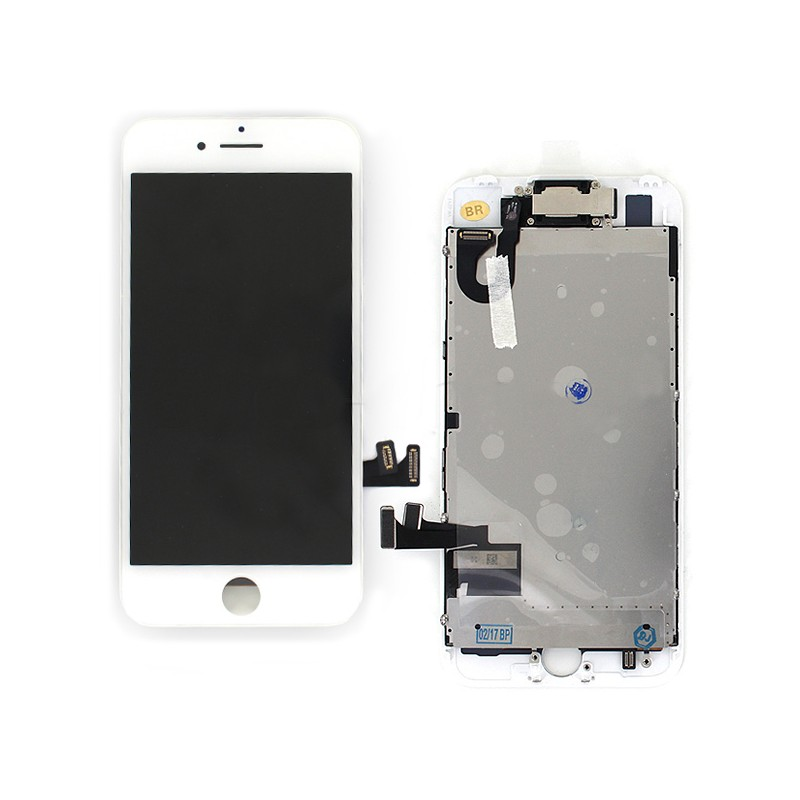 Ecran BLANC iPhone 7 PREMIUM pré-assemblé photo 2
