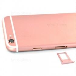 Coque arrière Rose pour iPhone 6S Plus complète photo 5
