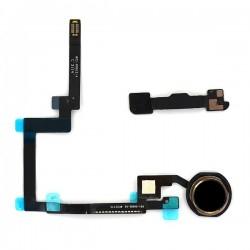 Nappe et bouton Home Noir pour iPad Mini 3 photo 2