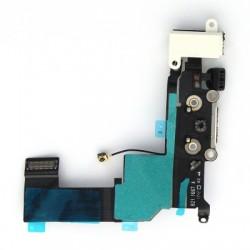Connecteur de charge blanc avec jack et micro iPhone 5S photo 3