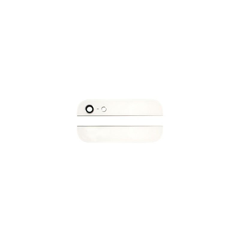 Eléments haut et bas Blancs de la vitre arrière pour iPhone 5 photo 2