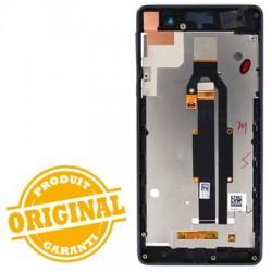 Bloc écran noir prémonté sur châssis pour Sony Xperia E5 photo 3