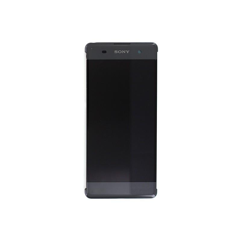 Bloc Ecran Noir sur châssis pour Sony Xperia XA / XA Dual photo 2