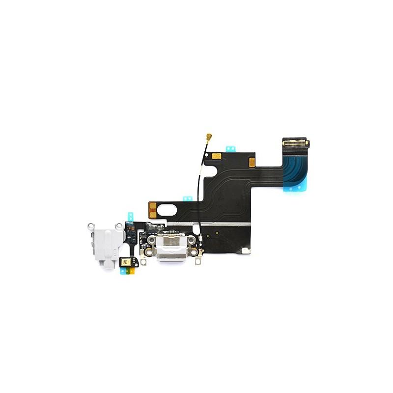 Connecteur de charge Blanc avec jack et micro iPhone 6 photo 2