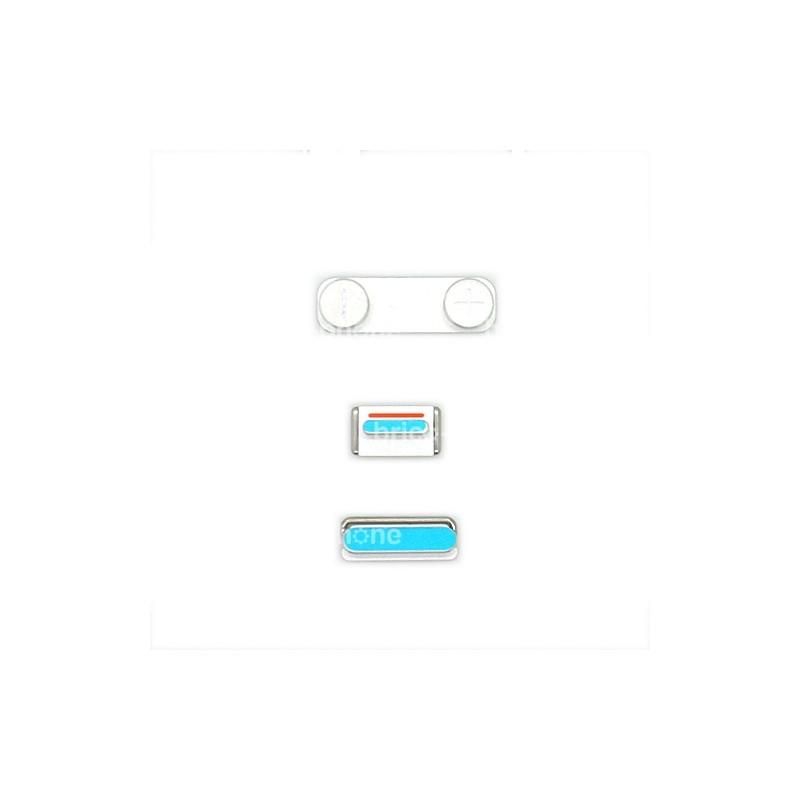 Lot de 3 boutons Bouton Power Mute et volume pour iPhone 5S photo 1