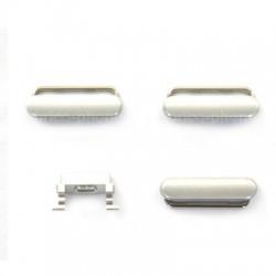 Lot de 4 boutons Silver pour iPhone 6 et 6 Plus photo 3
