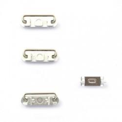 Lot de 4 boutons Silver pour iPhone 6 et 6 Plus photo 4