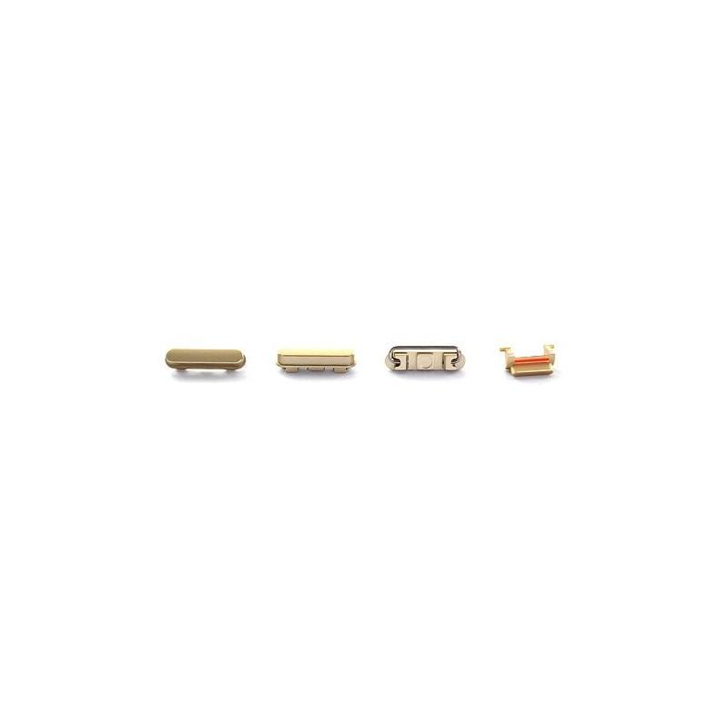 Lot de 4 boutons Gold pour iPhone 6 et 6 Plus photo 2
