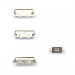 Lot de 4 boutons Gold pour iPhone 6 et 6 Plus photo 4