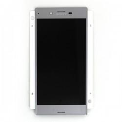 Ecran Argent avec Vitre et LCD prémontés pour Sony Xperia XZ / XZ Dual photo 2