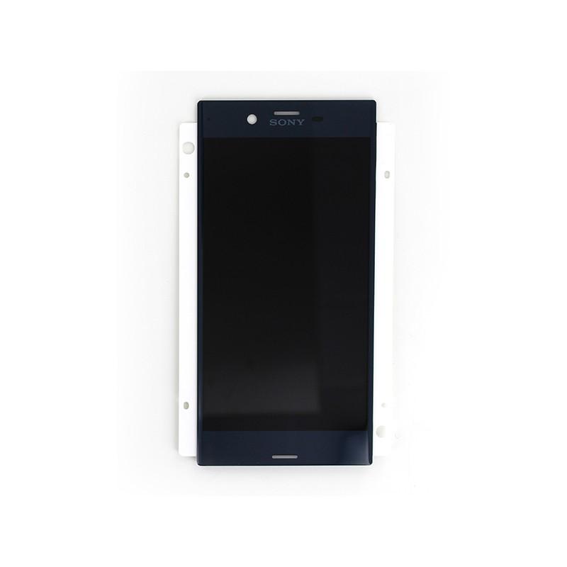 Ecran Bleu avec Vitre et LCD prémontés pour Sony Xperia XZ / XZ Dual photo 2