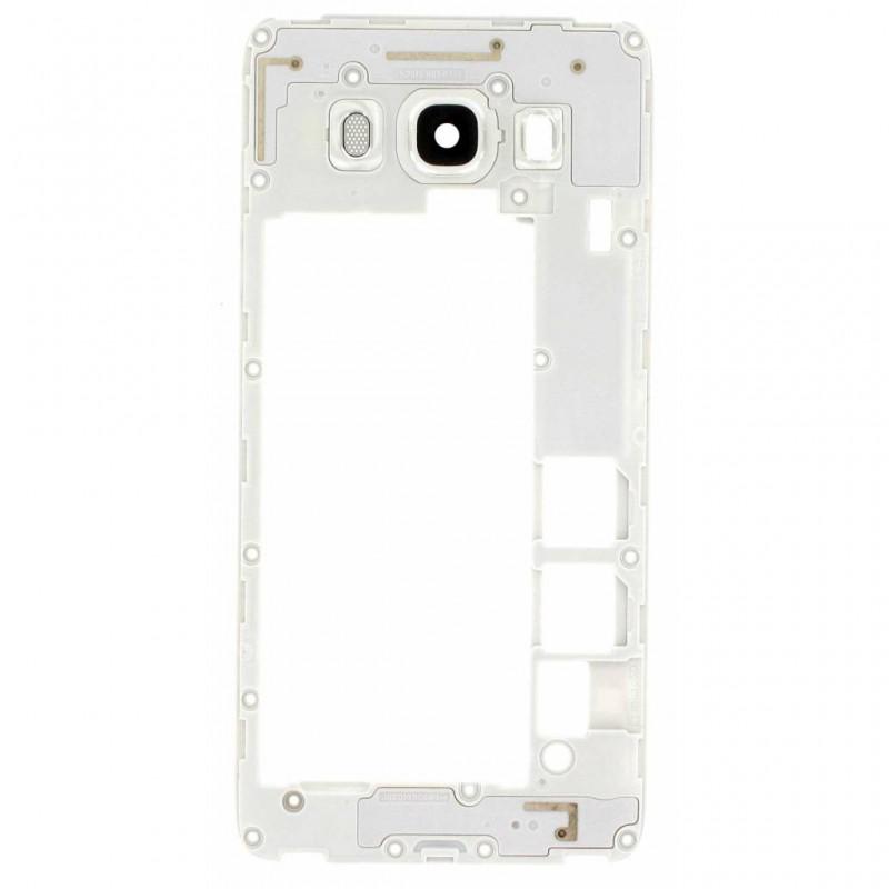 Chassis Intermédiaire pour Samsung Galaxy J5 2016 Blanc photo 2