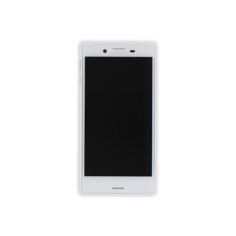 Bloc Ecran Blanc avec châssis pour Sony Xperia X Compact photo 2