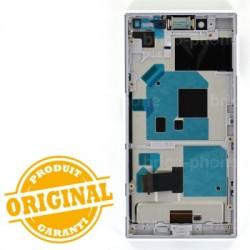 Bloc Ecran Blanc avec châssis pour Sony Xperia X Compact photo 3