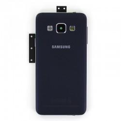 Coque arrière Noire avec châssis pour Samsung Galaxy A3 photo 2