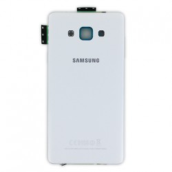 Coque arrière Blanche avec châssis pour Samsung Galaxy A7 photo 2