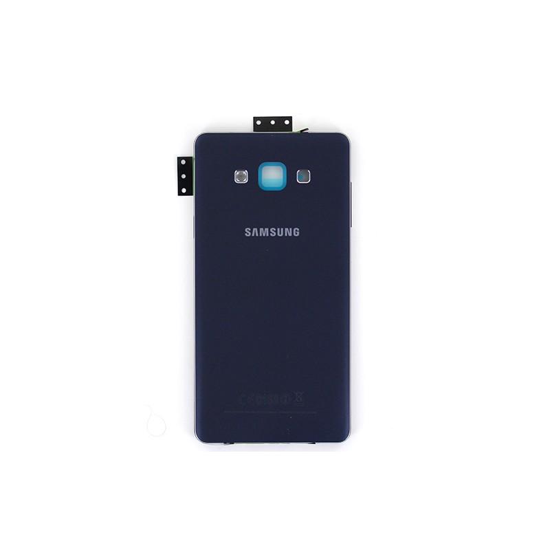 Coque arrière Noire avec châssis pour Samsung Galaxy A7 photo 2