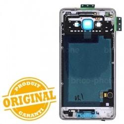 Coque arrière Noire avec châssis pour Samsung Galaxy A7 photo 3