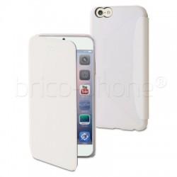 Housse portefeuille Blanche Muvit pour iPhone 6 Plus et 6S Plus photo 1