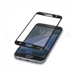 Protecteur d'écran en verre trempé incurvé NOIR pour Samsung Galaxy S7 Edge photo 2