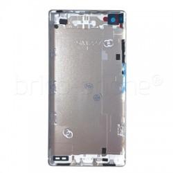 Coque arrière Blanche avec châssis pour Huawei P8 photo 3