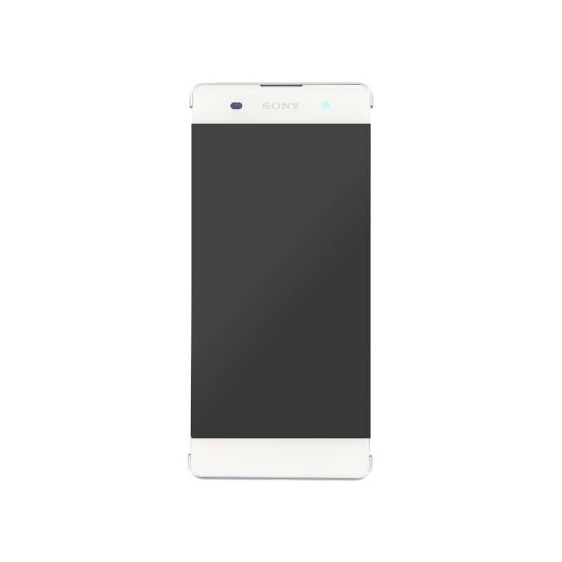 Bloc Ecran blanc sur châssis pour Sony Xperia XA / XA Dual photo 2