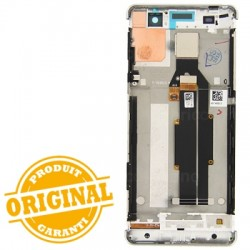 Bloc Ecran blanc sur châssis pour Sony Xperia XA / XA Dual photo 3