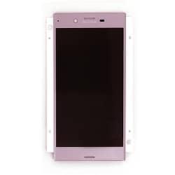 Ecran Rose avec Vitre et LCD prémontés pour Sony Xperia XZ / XZ Dual photo 2