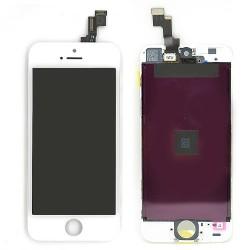 Ecran BLANC iPhone 5S PREMIER PRIX photo 1