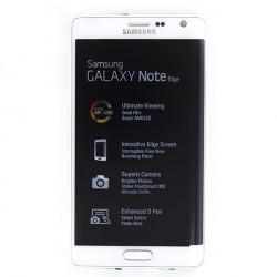 Bloc Ecran Blanc complet prémonté pour Samsung Galaxy Note Edge photo 2