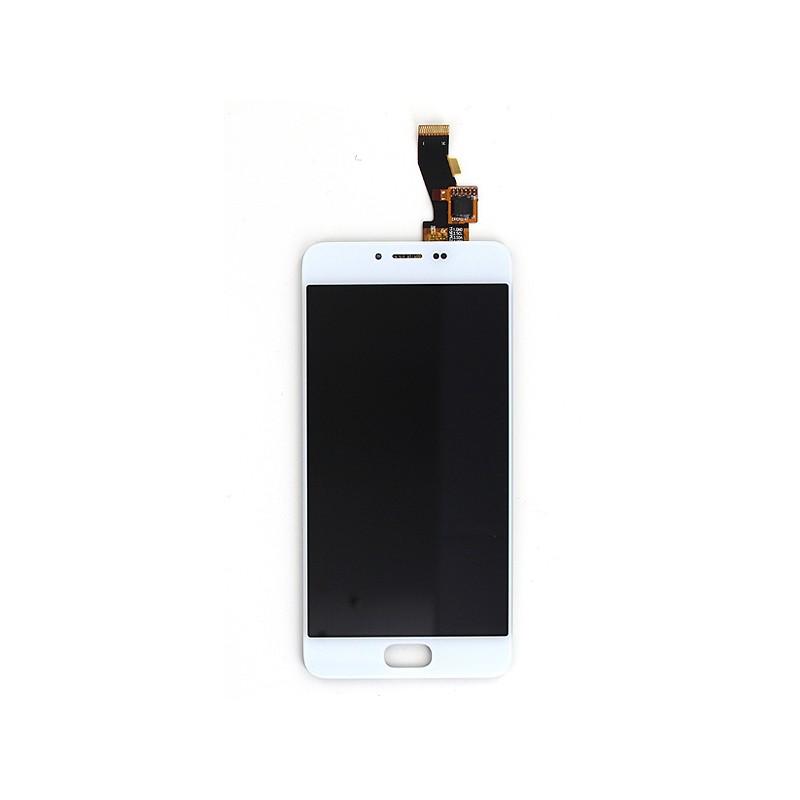Ecran Blanc avec vitre et LCD pré-assemblé pour Meizu M3 photo 2