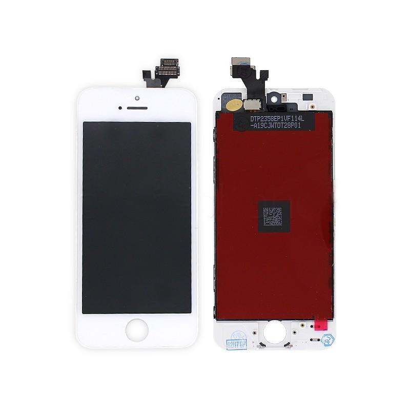 ecran blanc pour iphone 5 premier prix pour changer votre cran si il ne fonctionne plus ou la. Black Bedroom Furniture Sets. Home Design Ideas