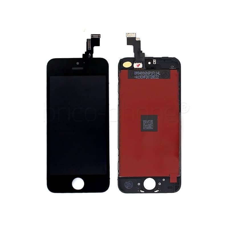 ecran noir pour iphone 5c premier prix pour changer votre cran si il ne fonctionne plus ou la. Black Bedroom Furniture Sets. Home Design Ideas