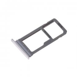 Rack tiroir carte SIM et SD Argent pour Samsung Galaxy S7 Edge photo 2